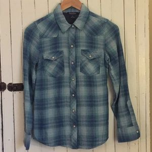 Lucky Cotton Plaid Western Snap-Up Shirt